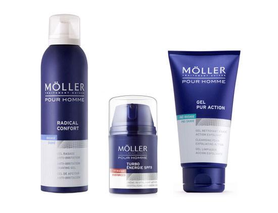 productos Möller pour Homme para sorteo cosmetik