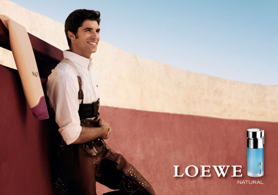 Cayetano Rivera para Loewe 7 Natural