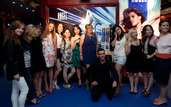 Thierry Mugler en la Beauty Party