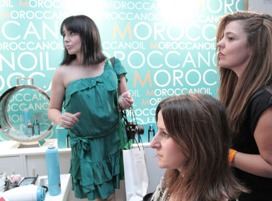Morrocanoil en la Beauty Party
