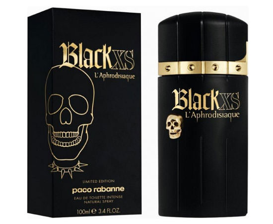 packaging Black XS L'Aphrodisiaque para ellos