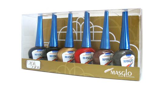 colección de esmaltes de uñas Gran Salón de Masglo