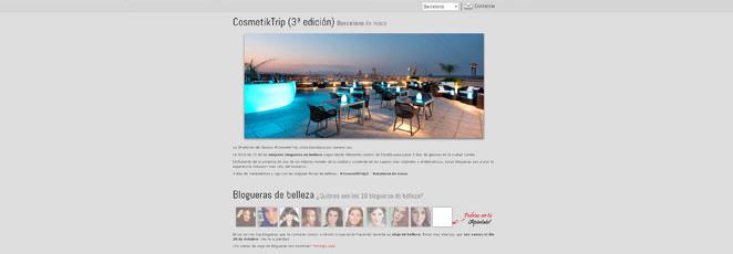 #CosmetikTrip3, ¿te vienes de viaje de blogueras? (Sorteo)