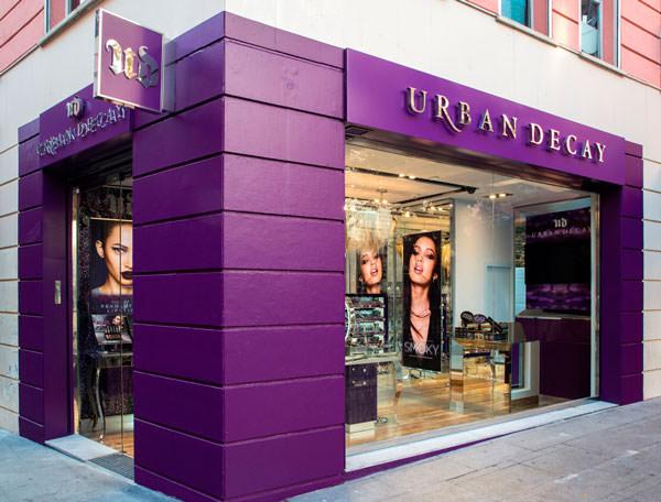 La primera tienda de Urban Decay está en Madrid