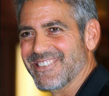 Clooney con barba