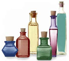 Aceites esenciales para elaboración de los perfumes