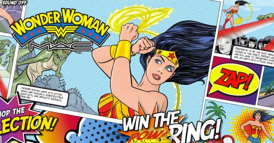 comic Wonder Woman de M•A•C
