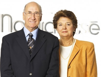Ricardo Fisas y su esposa María Gloria Vorges