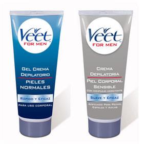 Crema depilatoria para pieles normales y sensibles