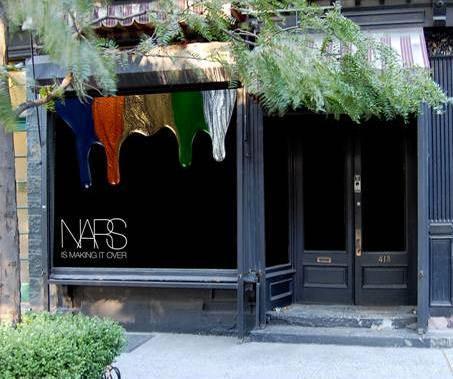 tienda Nars situada en el 413 de Bleecker Street