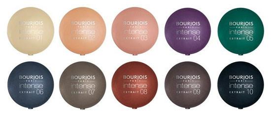 colores sombra de ojos Intense de Bourjois