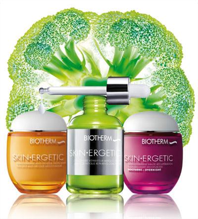 Productos Skin Ergetic de Biotherm