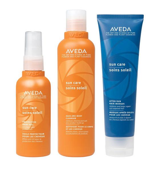 Sun Care de Aveda te ayuda a proteger tu cabello del sol