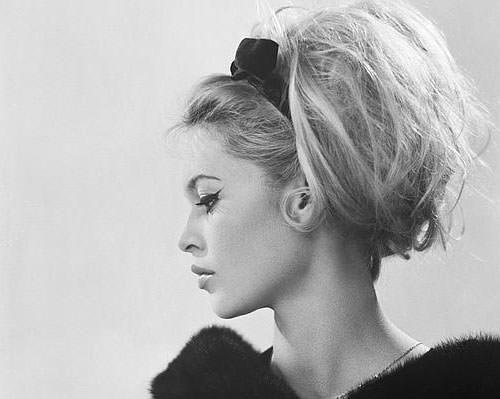 look muy a lo Brigitte Bardot