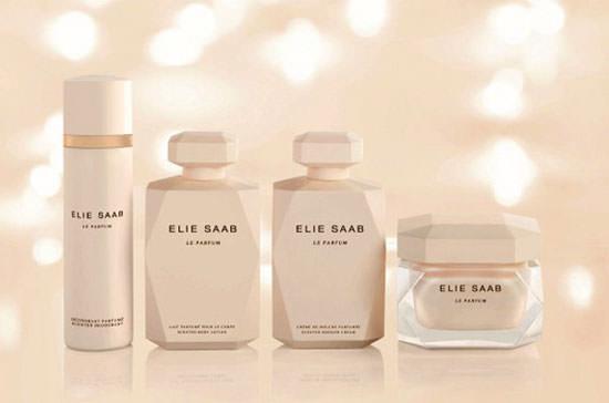 línea corporal de Elie Saab Le Parfum