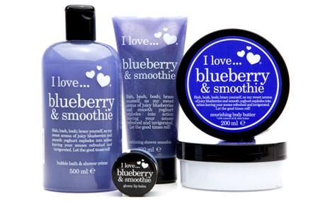 I love Blueberry & Smoothie