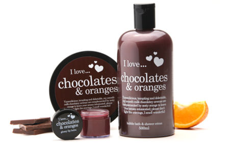 I Love Chocolates y Orange