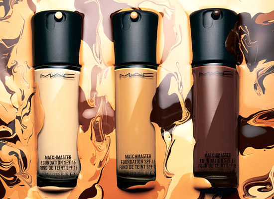 bases de maquillaje Matchmaster Foundation de MAC