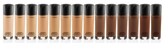 tonos bases de maquillaje Matchmaster Foundation