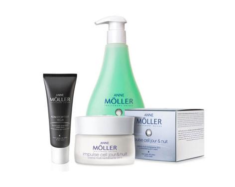 productos Anne Möller para el sorteo cosmetik