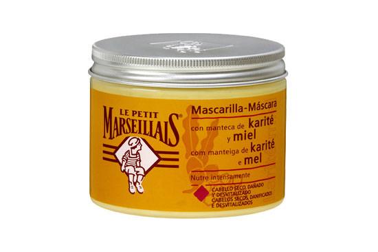 Mascarilla de manteca de karité y miel