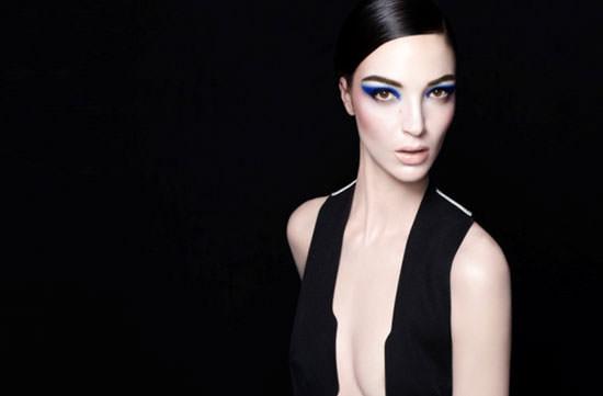 la modelo italiana Mariacarla Boscono para Nars Holyday 2011