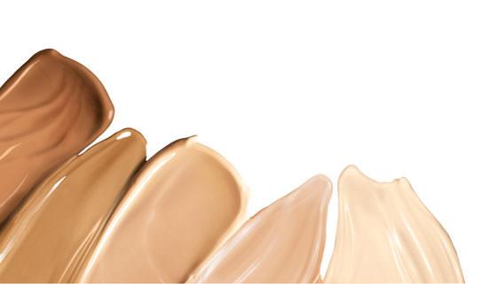 texturas y tonos de las cremas BB