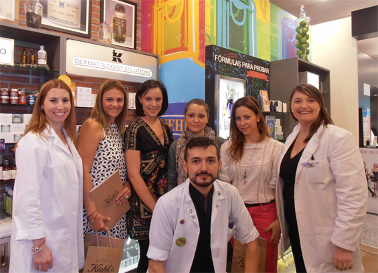 mi visita a tienda Kiehl´s Madrid