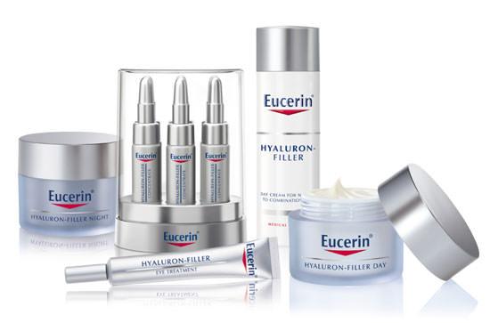 línea de productos Eucerin Hyaluron Filler