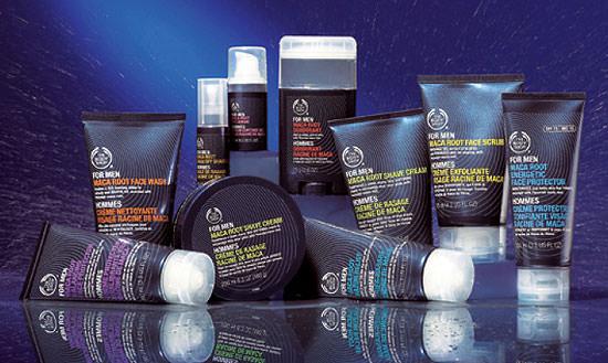 línea de productos Raíz de Maca de The Body Shop