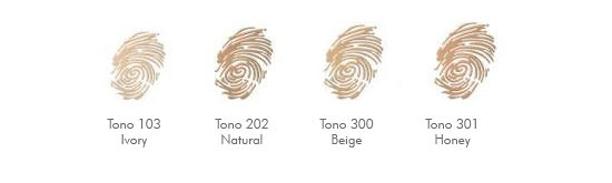 tonos Skin Match de Astor