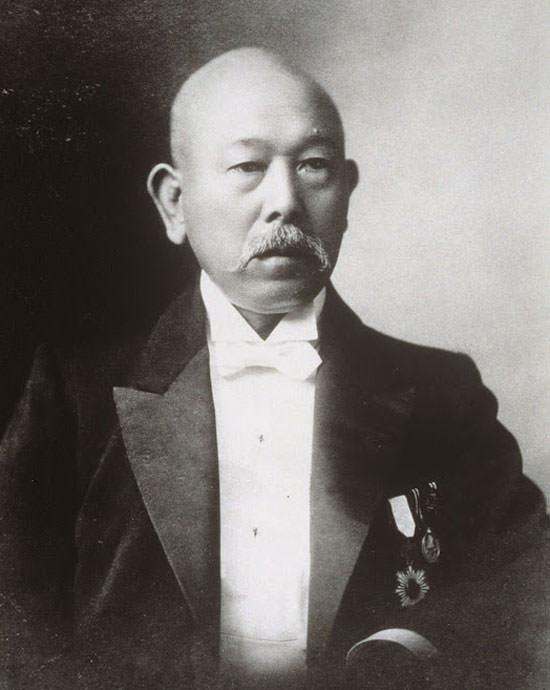 Arinobu (Yushin) Fukuhara fundador de Shiseido