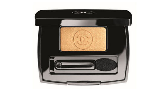 sombra Blazing Gold de Chanel