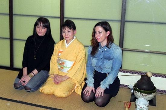 ceremonia del te con Marisa del Bazar de Marisse