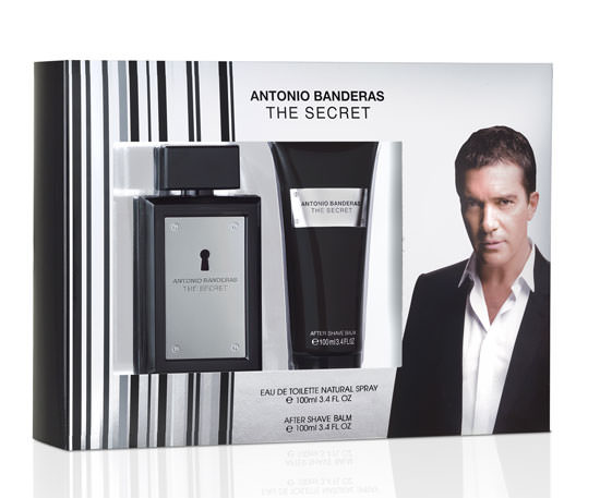 cofre The Secret de Antonio Banderas + after Shave