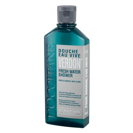 gel de ducha para el cuerpo y el cabello Eau Vive Verdon