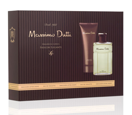 cofre Massimo Dutti + after shave