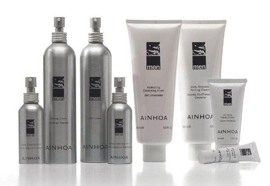 productos para el cuidado de la piel masculina de Ainhoa Men