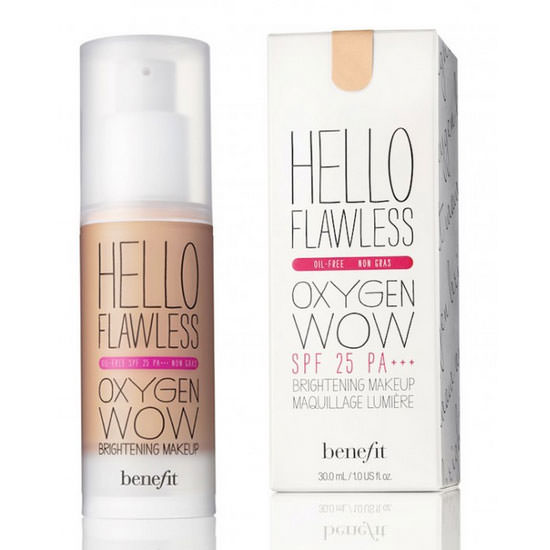 Base líquida Hello Flawless Oxigen Wow de Benefit