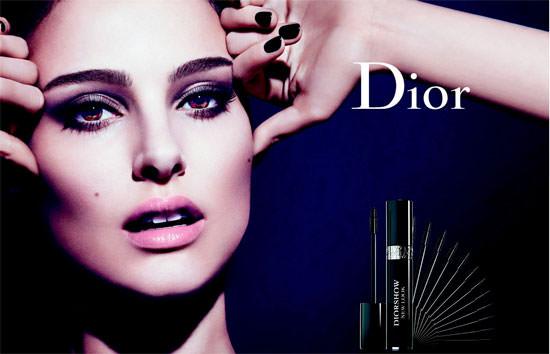 Nathalie Portman para Diorshow New Look
