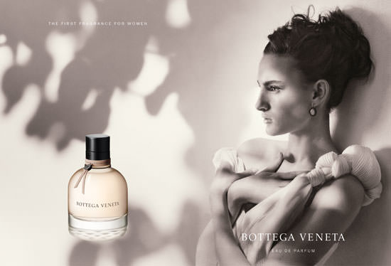 Nine D´Urso para Bottega Veneta Parfum