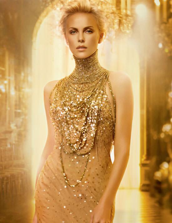 Charlize Theron para J´adore de Dior
