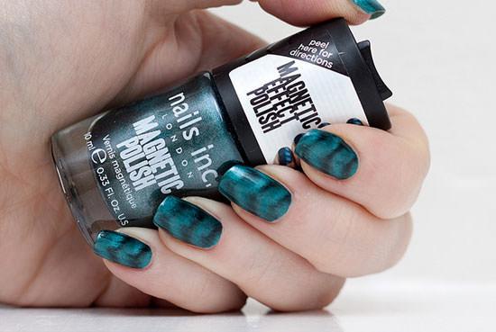esmaltes magnéticos de Nails Inc
