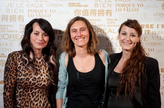 homenaje a 3 mujeres anónimas L'Oréal