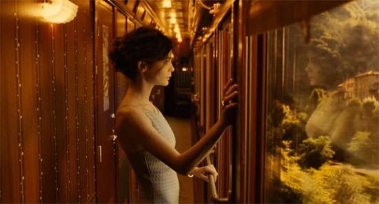 Audrey  Tautou para Chanel nº 5