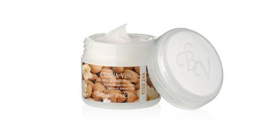Crema para el rostro 24 horas con leche de Almendras dulces