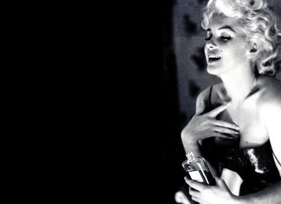 Marilyn Monreo para Chanel nº 5