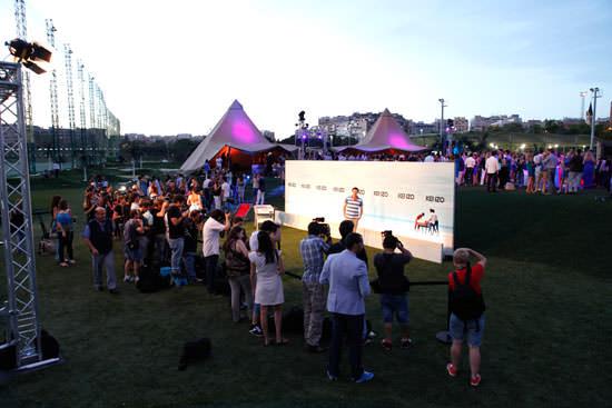 ambiente de la Summer Party de Kenzo