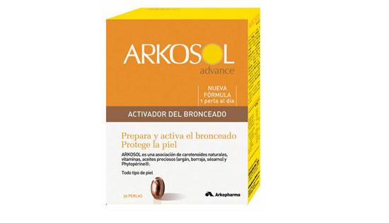 nutricosmética para tomar el sol de Arkosol