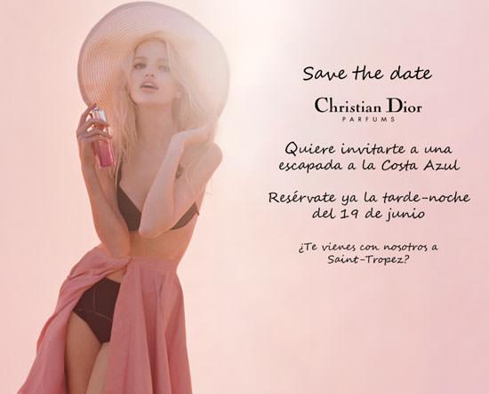 la top Daphne Groeneveld para Dior